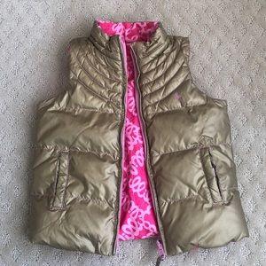 Lily Reversible Down Vest
